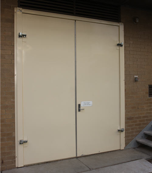 Double Acoustic Doors